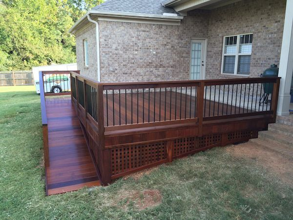 Image result for fancy wheelchair houses | Porch with ramp ... on hurricane tie downs for mobile homes, fences for mobile homes, garage designs for mobile homes, enclosed porch designs for mobile homes, living room designs for mobile homes, deck design ideas, back porch designs for mobile homes, roofing for mobile homes, ceiling designs for mobile homes, composite decks for mobile homes, wooden decks for mobile homes, deck designs front entry, porches for mobile homes, shower designs for mobile homes, custom decks for mobile homes, deck designs simple and inexpensive, door designs for mobile homes, off-screen rooms mobile homes,