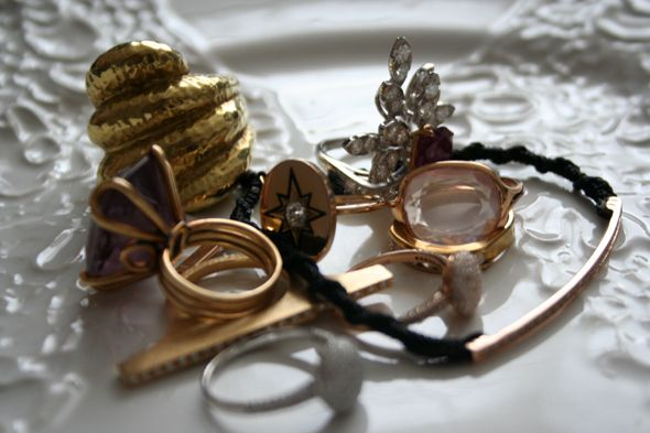 pink, white and yellow goldPost, Yellow Gold, White, Pink, Allure Casual, Jewelry, Minimal Accessories