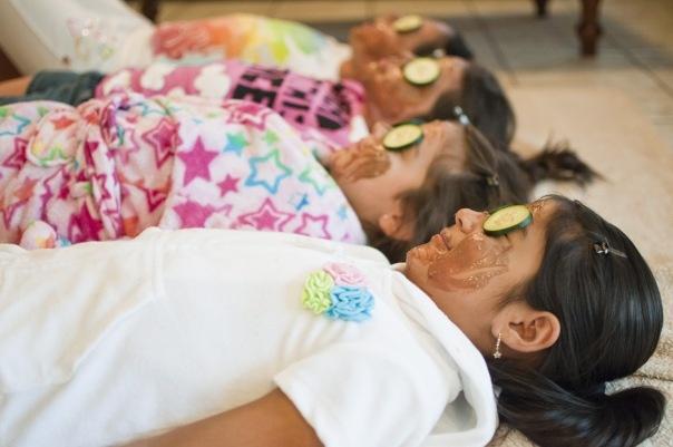 Cute spa party ideas