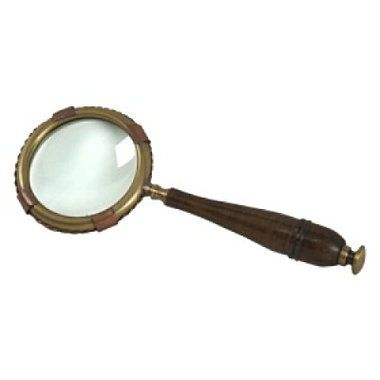"Nautical 9"""" Desk Magnifying Glass"