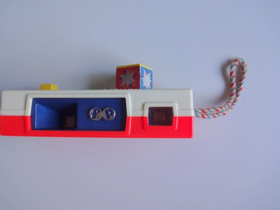 Vintage Fisher Price Pocket Camera 1974 by WylieOwlVintage on Etsy