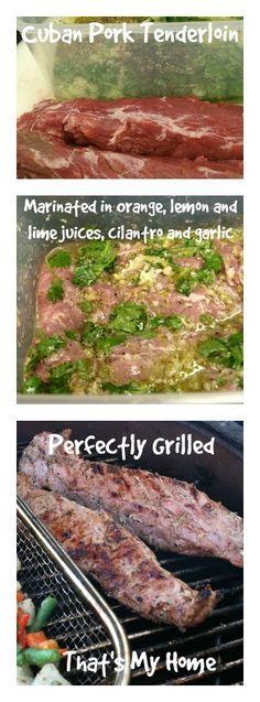 Pork tenderloin marinade grilling recipes
