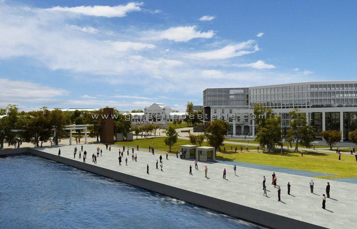 İstanbul Ticaret Odası ve Çevresi Düzenleme Projesi, Görselleştirme Çalışması. Proje Müellifi: Sepin Mimarlık