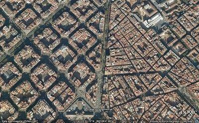 Plano Cerdà e o encontro com o tecido medieval de Barcelona
