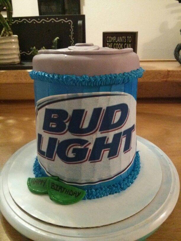 Bud Light Beer Cake