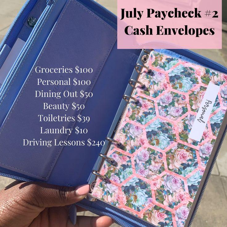 Cash Envelope Budget