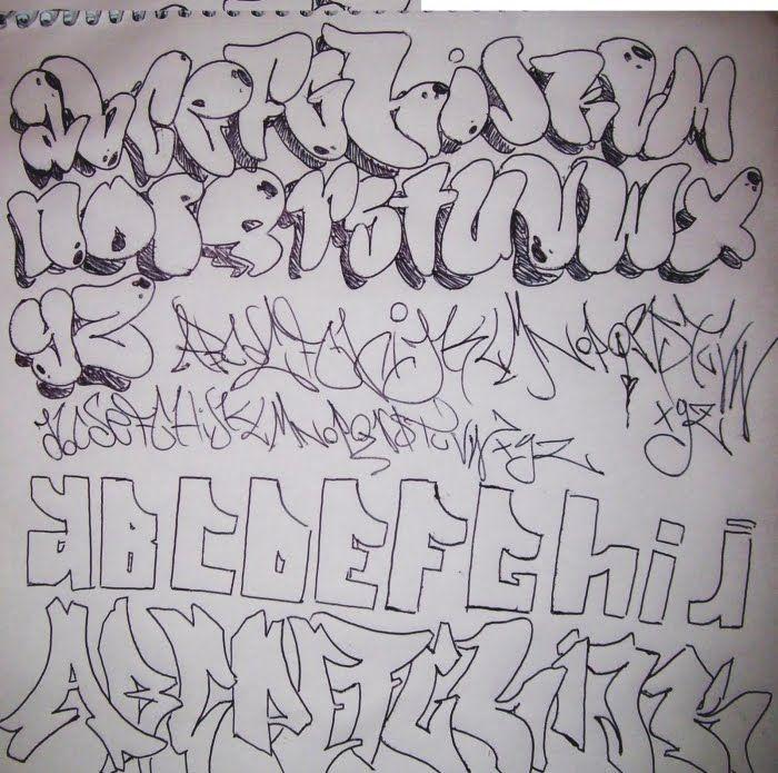 Sketch-Graffiti-Alphabet-1.jpg (700×695)