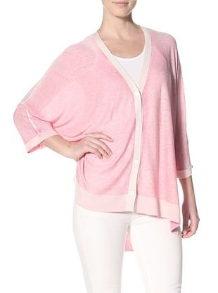 Kokun Women's Overdyed Cardigan Sweater