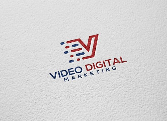 Video Digital Logo by REDVY on Creative Market