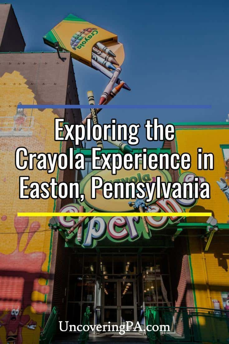 Grand Canyon Pa Directions%0A My review of the Crayola Experience in Easton  Pennsylvania via   UncoveringPA