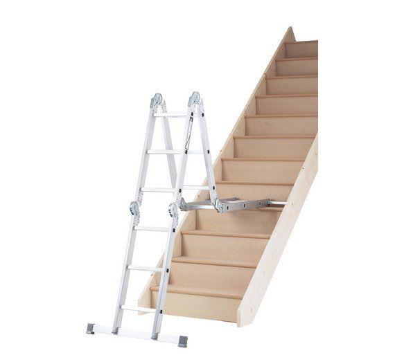Buy Abru Multi-Purpose Ladder 10 In 1 4.03M Max. *SWH at Argos.co.uk - Your Online Shop for Ladders and step stools, DIY tools and power tools, Home and garden.
