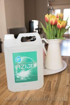 7 schoonmaaktips met schoonmaakazijn - Huis- en TuinLiefde