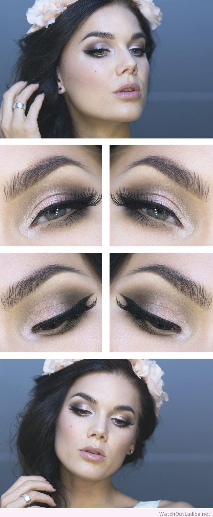 Linda Hallberg awesome romantic makeup
