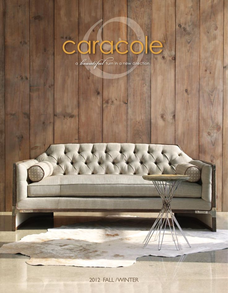 Caracole magazine fall 12  See selected pieces instore at Station Road Home Collections, Rangiora NZ. Exclusively sold in NZ www.stationroad.co.nz
