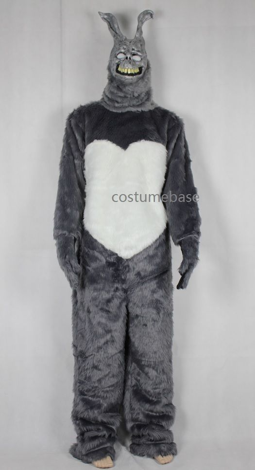 Donnie Darko FRANK the BUNNY Adult Costume Fancy Dress MASK Jumpsuit Faux Fur #Handmade #CompleteCostume