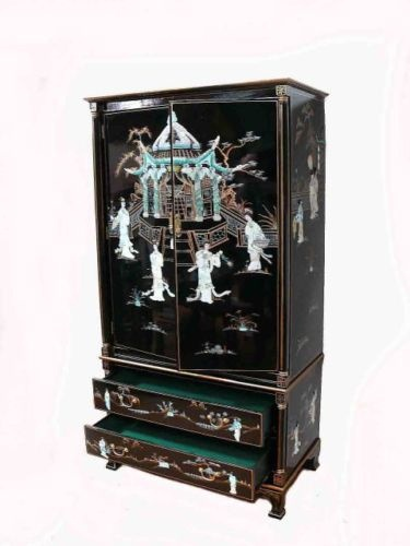 158 best mother of pearl inlay images on pinterest for Oriental furniture for sale