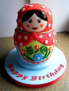 Russian doll cake