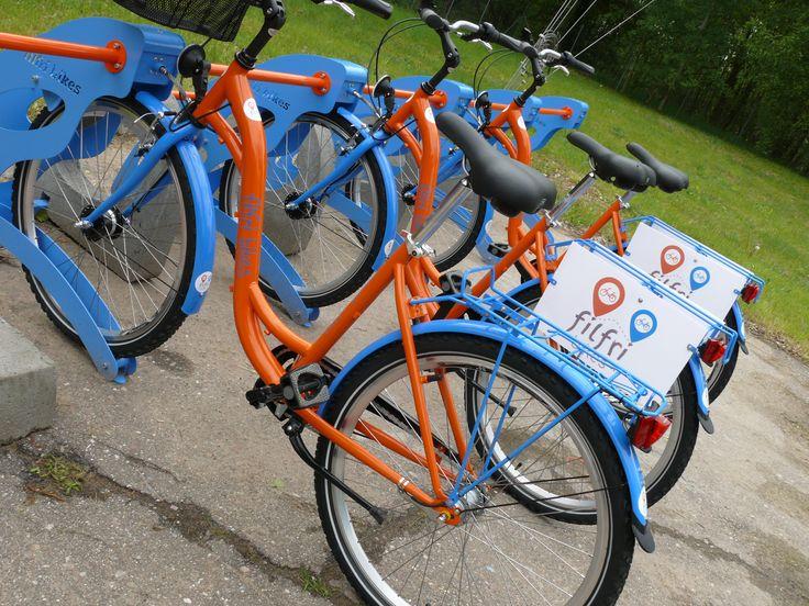 Filfri Bikes at the bike station