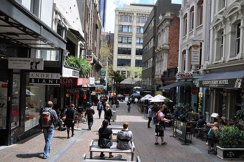 Vulcan Lane, Auckland. Possibly my favourite street.