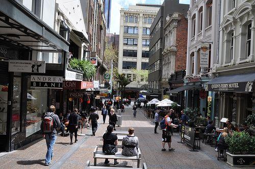 Vulcan Lane, Auckland