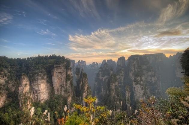 Zhangjiajie National Forest Park, Hunan Province of China