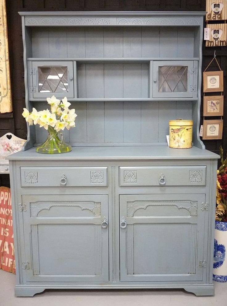 Autentico Blue Painted Dresser Autentico Chalk Paint