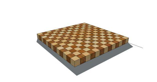 Build A Butcher Block Cutting Board Furniture Pinterest