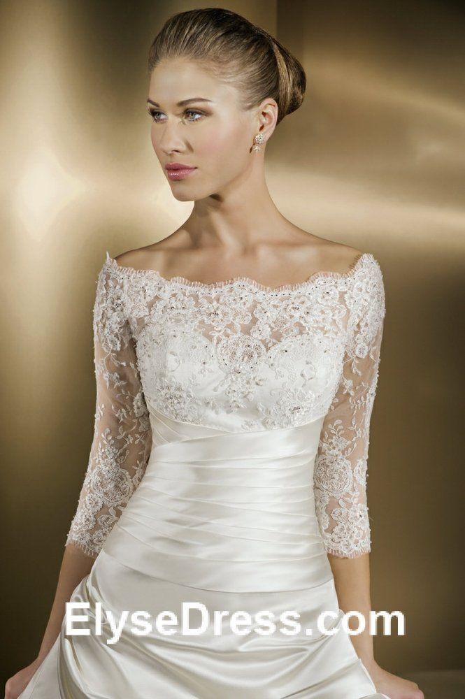 21 best Vestidos de novia images on Pinterest | Homecoming dresses ...