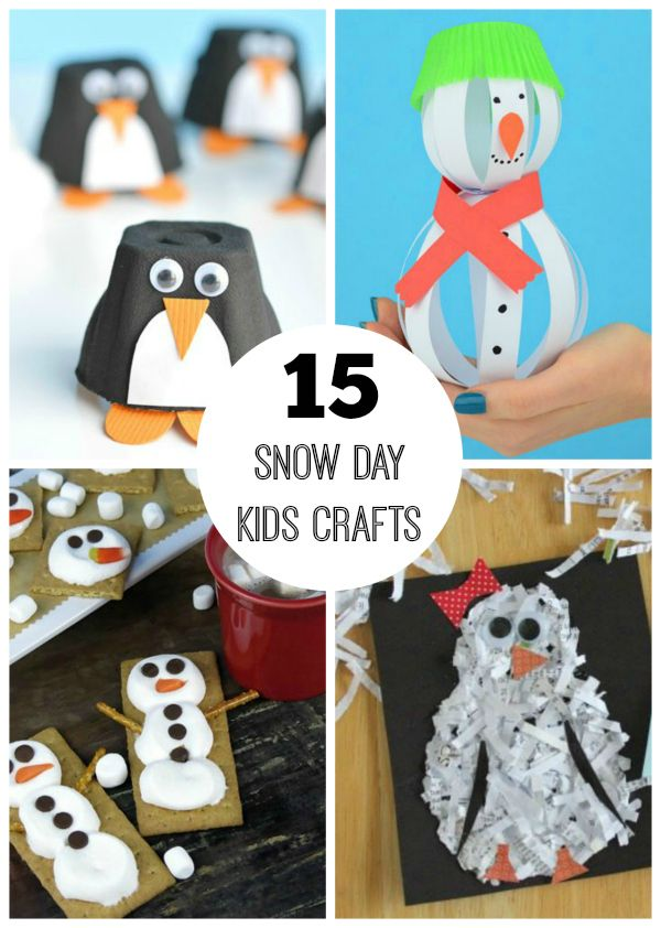 It's cold outside, which means it's a perfect time to stay inside and do some crafting! Plus, from sparkling snow to furry creatures, the winter season is full of pretty crafting inspirations! 15 Winter Crafts for Kids 1. Shivery Snow... Continue Reading →