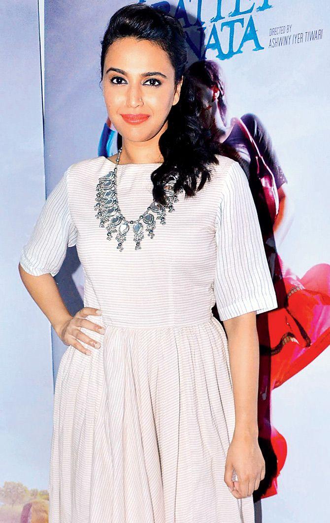 Swara Bhaskar promoting 'Nil Battey Sannata'. #Bollywood #Fashion #Style #Beauty #Hot #Sexy
