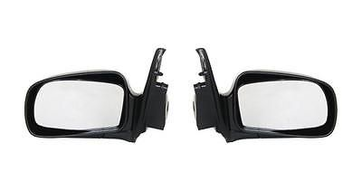 Left & Right Side Textured Black Mirror for 99-00 Mercury Villager Nissan Quest
