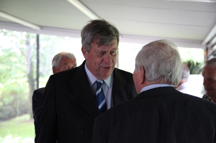 Onze ere-gast van de avond: Ivo Opstelten, minister van Veiligheid en Justitie.