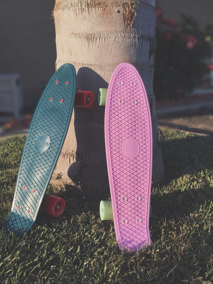 Perfect day to ride our pennyboards