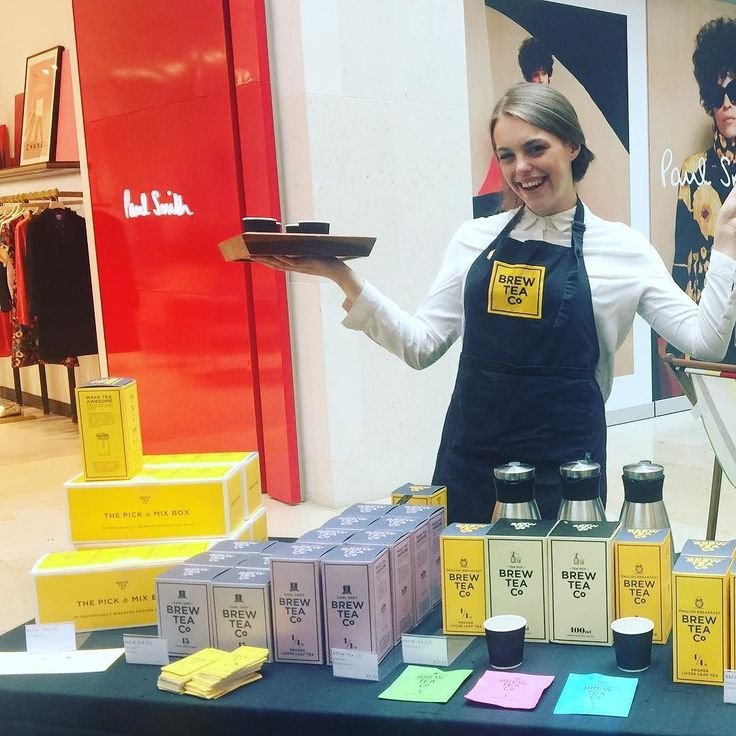 Powowow! Come see us at Harvey Nichols in the Birmingham Mailbox for some proper tea tasting!