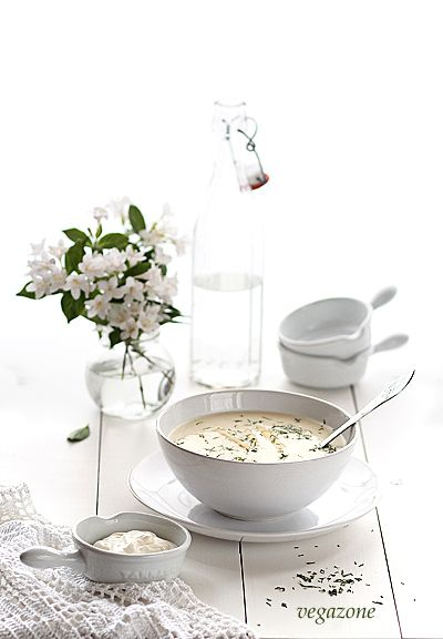 Klasyczna zupa szparagowa