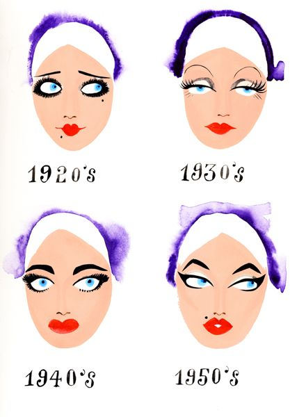 even if make up only changed a bit over the years doesn't mean it hasn't made a…