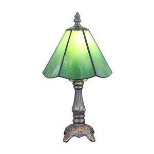 6inch European Pastoral Retro Style Table Lamp Green Lamp Shade Bedroom Living Room Dining Room Lights