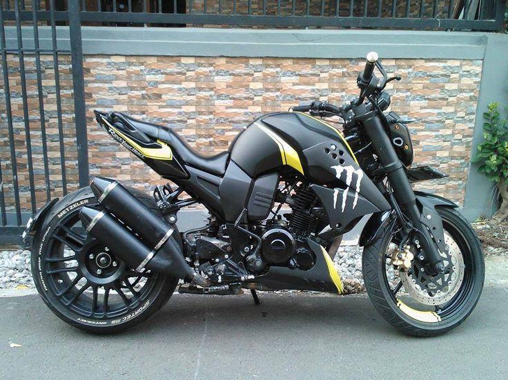 motorcycles-and-more: Yamaha FZ 16 Custom