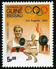 Guinea Bissau Olympics 1984 Stamps