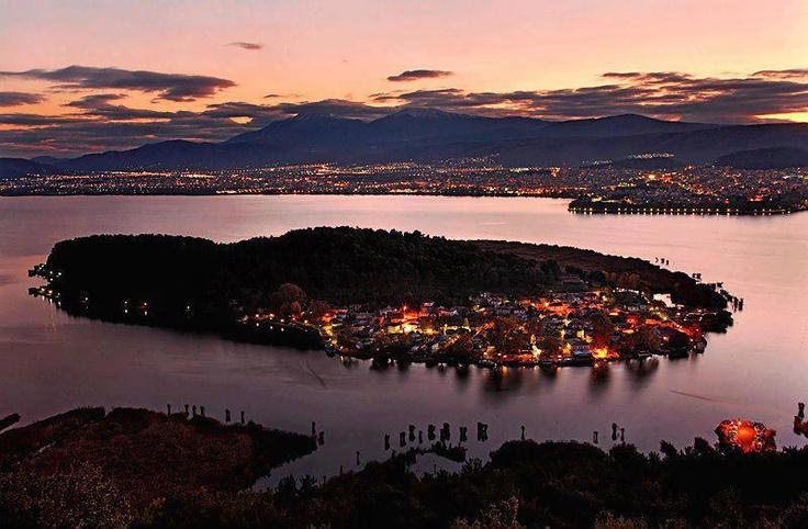 Ioannina lake, Greece