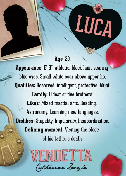 Luca... He's perfect for Sophie | Vendetta, Favorite book quotes ...