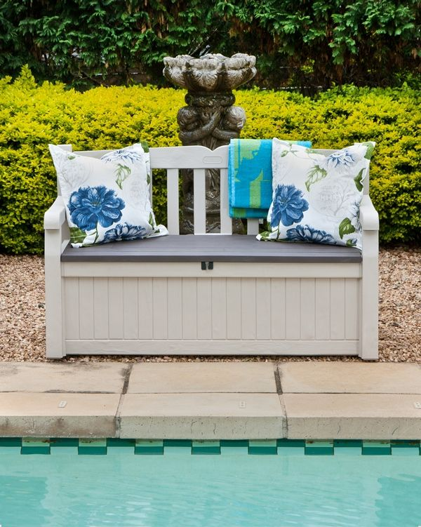 Garden And Home | Patio Storage Ideas