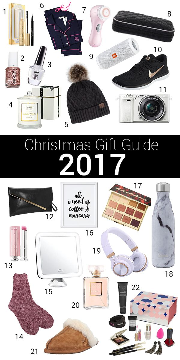 Christmas gift guide 2017, perfect for the holidays and the season of gift giving!