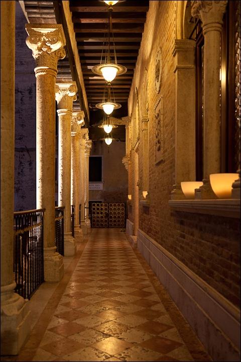 Hotel Entrance, Palazzo Stern, Venice