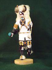 Hopi Kachina Doll - The White Buffalo Dancer - Great!  $200
