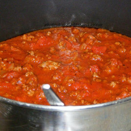 Spaghetti Meat Sauce (semi-homemade)