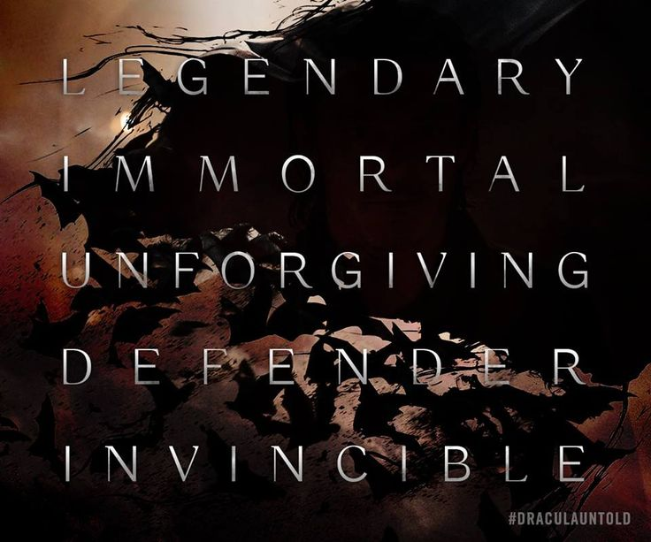 Known by many names. Feared by all. #DraculaUntold