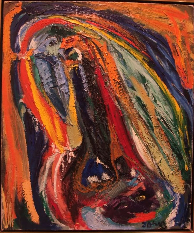 Asger Jorn, And Then?, 1963-65