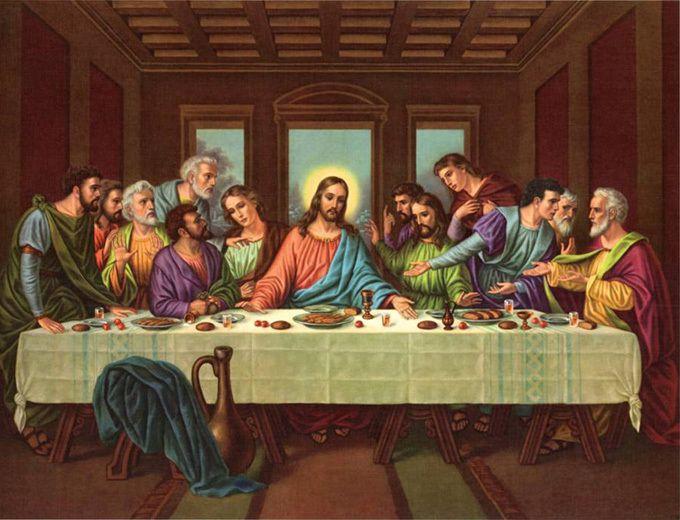 The Last Supper Cross Stitch Pattern***L@@K*** – a unique product by jaylm2006 on DaWanda