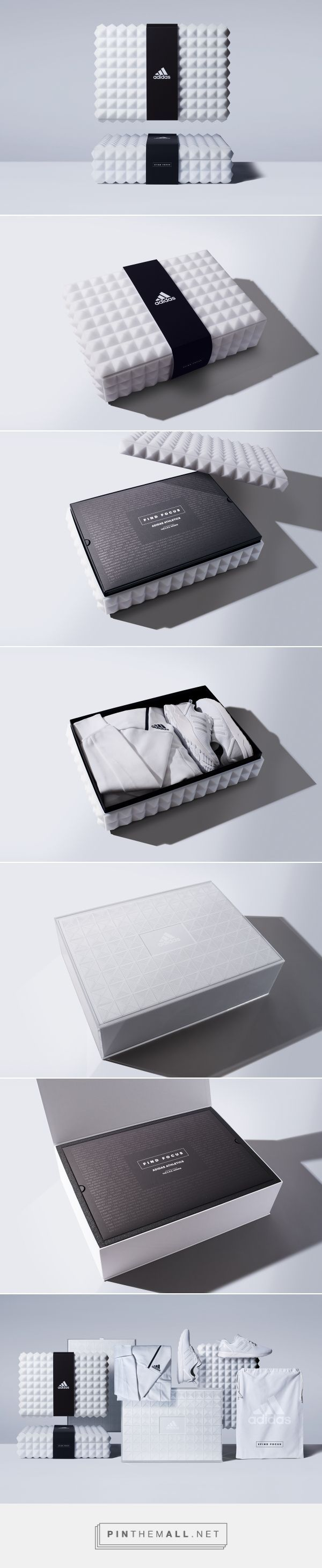 Adidas Athletics on Packaging of the World - Creative Package Design Gallery - created via https://pinthemall.net